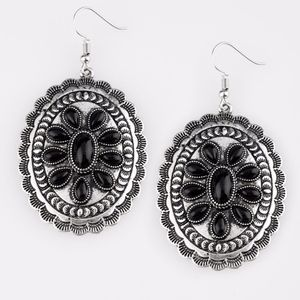 Free with Bundle Apothecary Black Earrings